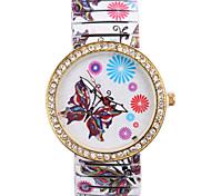 Ladies' Watch Butterfly Elastic Quartz Watch
