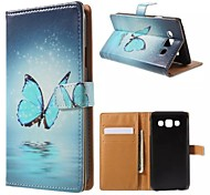 Good Quality PU Leather Flip Case Mobile Phone for Samsung Galaxy E5/E7