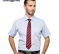 JamesEarl Men's Shirt Collar Short Sleeve Shirt & Blouse Purple - M21X5000105