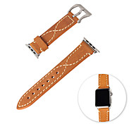 serie silla lention correa de cuero de 42mm iWatch