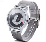Masculino Relógio de Moda Quartz Relógio Casual Lega Banda Prata marca-