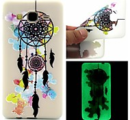 For Samsung Galaxy Case Glow in the Dark / Pattern Case Back Cover Case Dream Catcher TPU Samsung On 7 / On 5