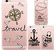 MAYCARI®Direction Soft Transparent TPU Back Case for iPhone5/iPhone 5S(Assorted Colors)