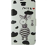 Milk Painted PU Phone Case for Huawei P8 Lite/P8/P7/Y550/G6