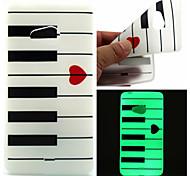 amare modello pianoforte TPU telefono luminoso per Nokia Lumia 540