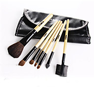 1Set Genuine DANNI 7 Danielle Makeup Brush Set Professional Makeup Brush Set Makeup Brush Set Tool Bag