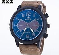 Men's Fashion Personality Textile Quartz Analog Sport Watch(Assorted Colors) Cool Watch Unique Watch