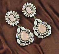 Earring Drop Earrings Jewelry Women Alloy 2pcs Silver