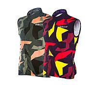 Jacke / Tank Tops ( Rot / Armeegrün ) - für Atmungsaktiv / Windundurchlässig / Reflexstreiffen - Langärmelige - für Herrn Hochelastisch