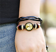 Women's Alloy Leather Handcrafted Vintage Bracelet Table Cool Watches Unique Watches