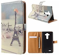 Good Quality PU Leather Flip Case Mobile Phone for LG G3/G3 mini/G4