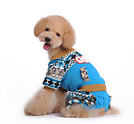 Dog Coat / Clothes/Jumpsuit / Clothes/Clothing Rose Winter Snowflake Waterproof / Keep Warm / Fashion