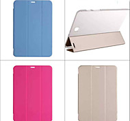 Luxury PU Leather Book Stand Holder Smart Cover Transparent Back Case for Samsung Galaxy Tab S2 8.0/S2 9.7/S 8.4/S 10.5