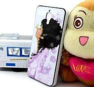 2-in-1 Snow White Pattern TPU Back Cover with PC Bumper Shockproof Soft Case for Xiao Mi 4 MI4