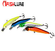 "Afishlure Minnow Artificial Lure 12g/7/16 oz 105mm/4-1/16"" 2pcs/lot Sea Fishing/Fly Fishing/Bait Casting"