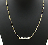 European Fashion New Alloy Necklace Extreme Simplicity Chain Of Clavicle