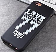 Super Popular Brands High-Grade 77 TPU Soft Phone Case for iPhone 6/6S
