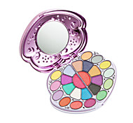 Hot Sale 24 Colors Eye Shadow with Blush Brush Lip Gloss Professional Make up Set