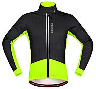 Wosawe® Cycling Jacket Unisex Long Sleeve Bike Thermal / Warm / Insulated / Waterproof Zipper / Front ZipperFleece Jackets / Jersey /