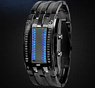 Men Led Watch Fashion Creative Personality Wrist Watch Cool Watch Unique Watch