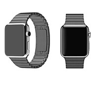 Imitation of The Original Steel Butterfly Buckle Strap for Apple Watch 42mm