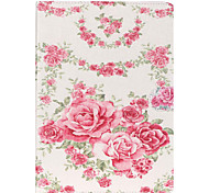 Rose Pattern PU Leather Protective Sleeve For Samsung Galaxy Tab E 9.6 T560