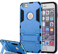 Shockproof Hybrid Rugged PC Silica Gel Armor Case for iPhone 6/6S (Assorted Colors)
