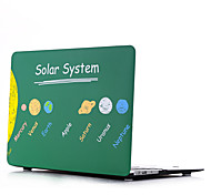 Solar System Style PC Materials Water Stick Flat Shell For MacBook