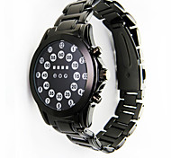 Cool Fashion Creative Led Electronic Watch Ball Alloy Waterproof Watches