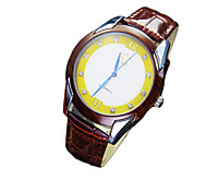 Fashion Men Quartz Watch Classic Wood Dial Watch Waterproof Couples With Dye-In-The-Wood Individual Character