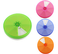 "Travel Pill Box/CaseForTravel Accessories for Emergency Plastic 3.94""*3.94""*0.79""(10cm*10cm*2cm)"