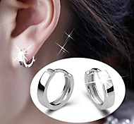 925 Sterling Silver Men's and women's ear clip