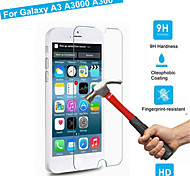 Explosion Proof Premium Tempered Glass Film Screen Protective Guard 0.3 mm Toughened Membrane Arc For Galaxy A3