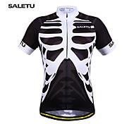 SALETU New Men's Cycling Clothing Bike Sportswear Short Sleeve Top Shirt Bicycle Quick-Dry Cycling Jerse