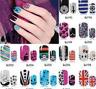1pcs 3D Nail stickers