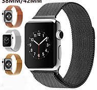 Milan Milanese Stainless Steel Strap watchband Strong magnet lock Watch Bands for Apple iwatch