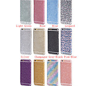bling de luxe pleine protection du corps autocollant film pour iphone 6 6s / iphone (couleurs assorties)