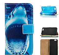 motif de requin en cuir de mobile pour iphone 6 / 6s