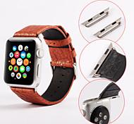 applicare il classico 38 millimetri prodotti fibbia banda primo strato di pelle per l'orologio di Apple (colori assortiti)