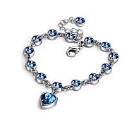 Korea Style Magic Imitation Bracelet Fashion Heart Crystal Bracelets & Bangles for Women