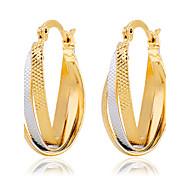 Earring Drop Earrings Jewelry Women Alloy / Resin / Rhinestone 2pcs Gold / Silver