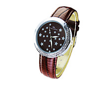 Fashion Ladies Quartz Watches Contracted Fashion Stars Series Waterproof Watches
