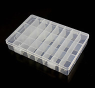 24-Compartment Free Combination Plastic Storage Box for Hardware Tools Gadgets