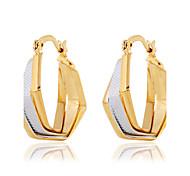 Tropfen-Ohrringe Kristall Perle Harz Strass 18K Gold Imitation Diamant Aleación Modisch Gold Schmuck 2 Stück