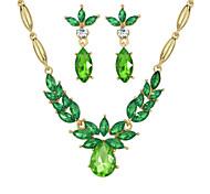 Bijoux Colliers décoratifs / Boucles d'oreille Soirée / Quotidien Alliage 1set Femme Cadeaux de mariage