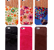 High Quality Luxury Genuine Leather Back Cover for iPhone 5/iPhone 5S(Assorted Colors)