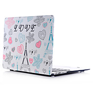 LOVE Style PC Materials Water Stick Flat Shell For MacBook