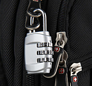 Travel Luggage Lock / Inflated Mat Coded lock Luggage Accessory Stainless Steel