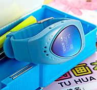 relógios inteligentes linda posicionamento chamada para as crianças gps + lbs multimodo wi-fi + posicionamento (cores sortidas)