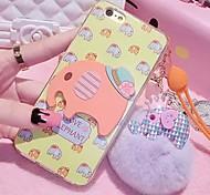LADY® 3D Carton Soft Case  for iphone6/6s(4.7), Random Color
